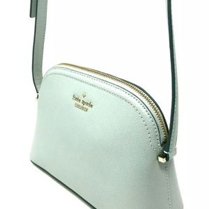 Kate Spade Mint Green Peggy leather crossbody NEW